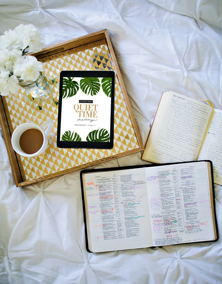 30 Day Quiet Time Challenge with Jane Johnson